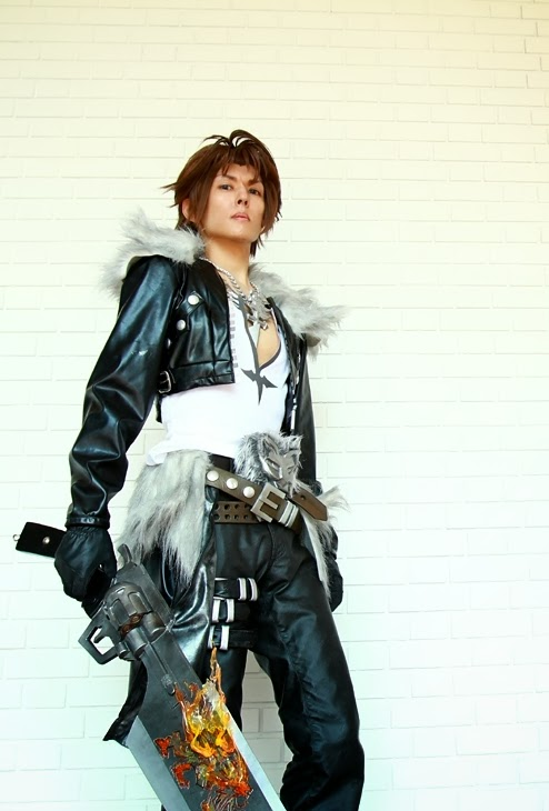 squall leonhart  final fantasy viii  cosplay by kanon