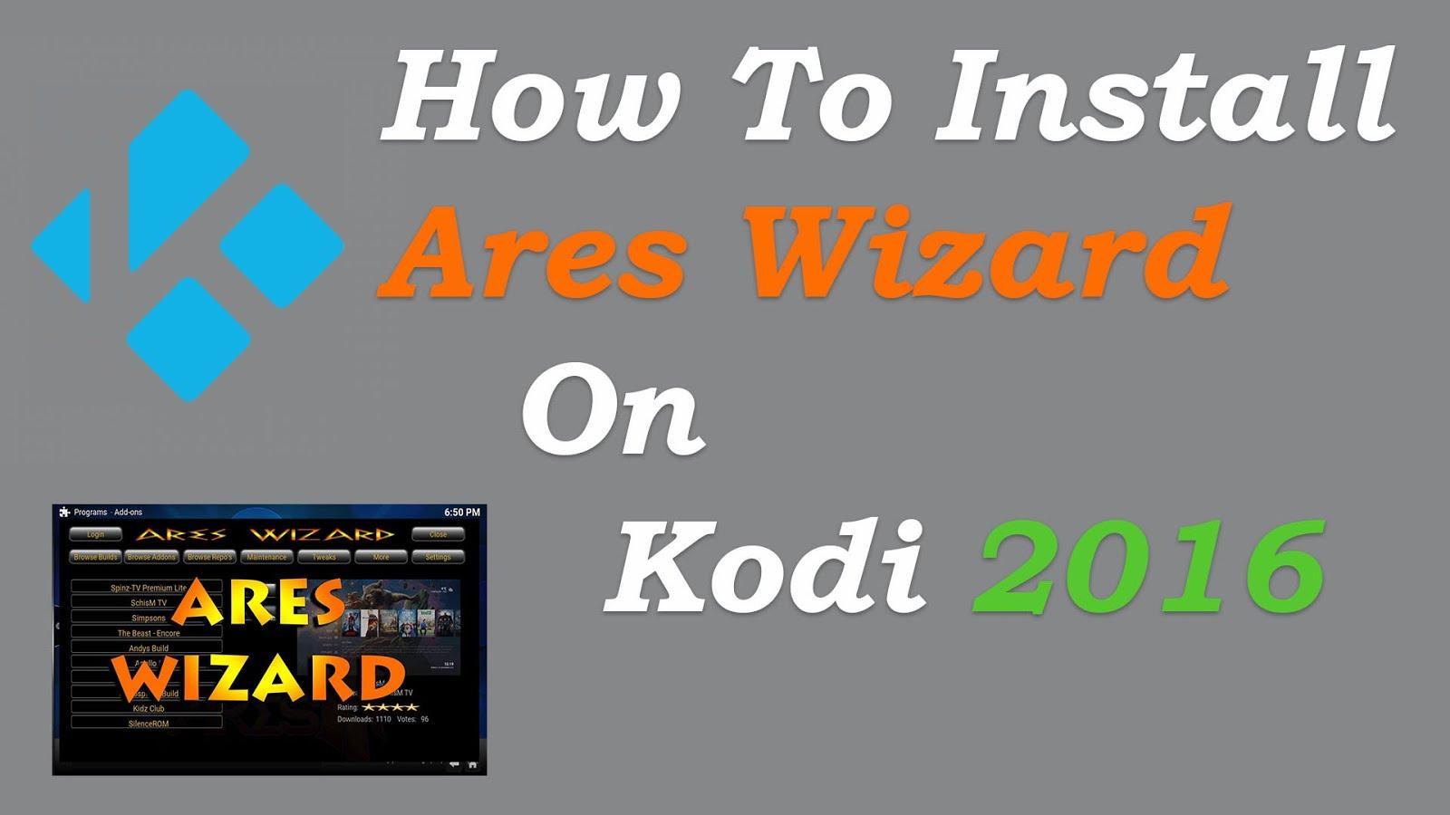 How To Install Ares Wizard Addon On Kodi Kodi Live Best Kodi