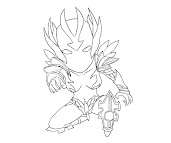 #42 Dota 2 Coloring Page