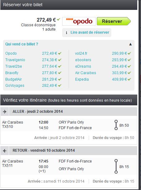 Fort de France low cost