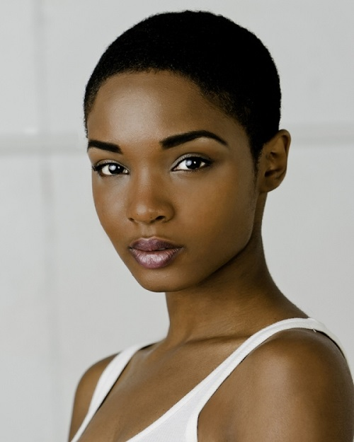 Very Short Hairstyles for African American Women