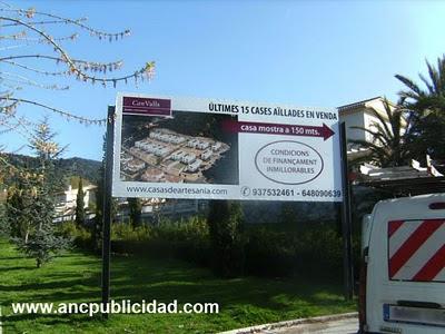 Valla publicidad Cabrils