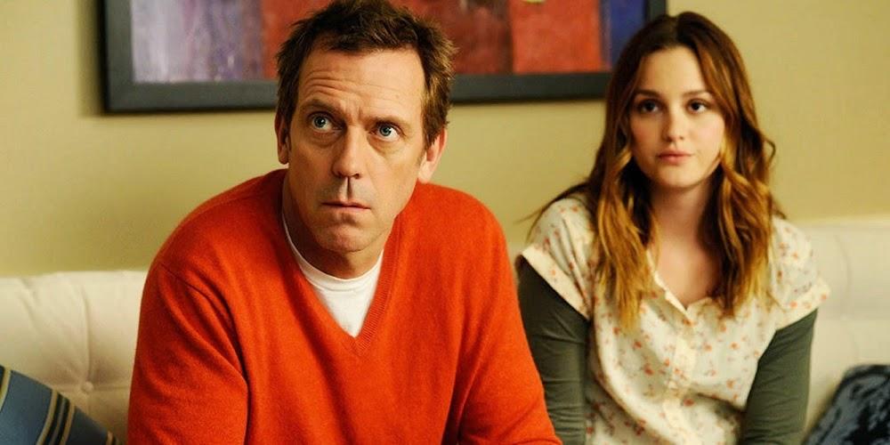 Hugh Laurie e Leighton Meester em A FILHA DO MEU MELHOR AMIGO (The Oranges)