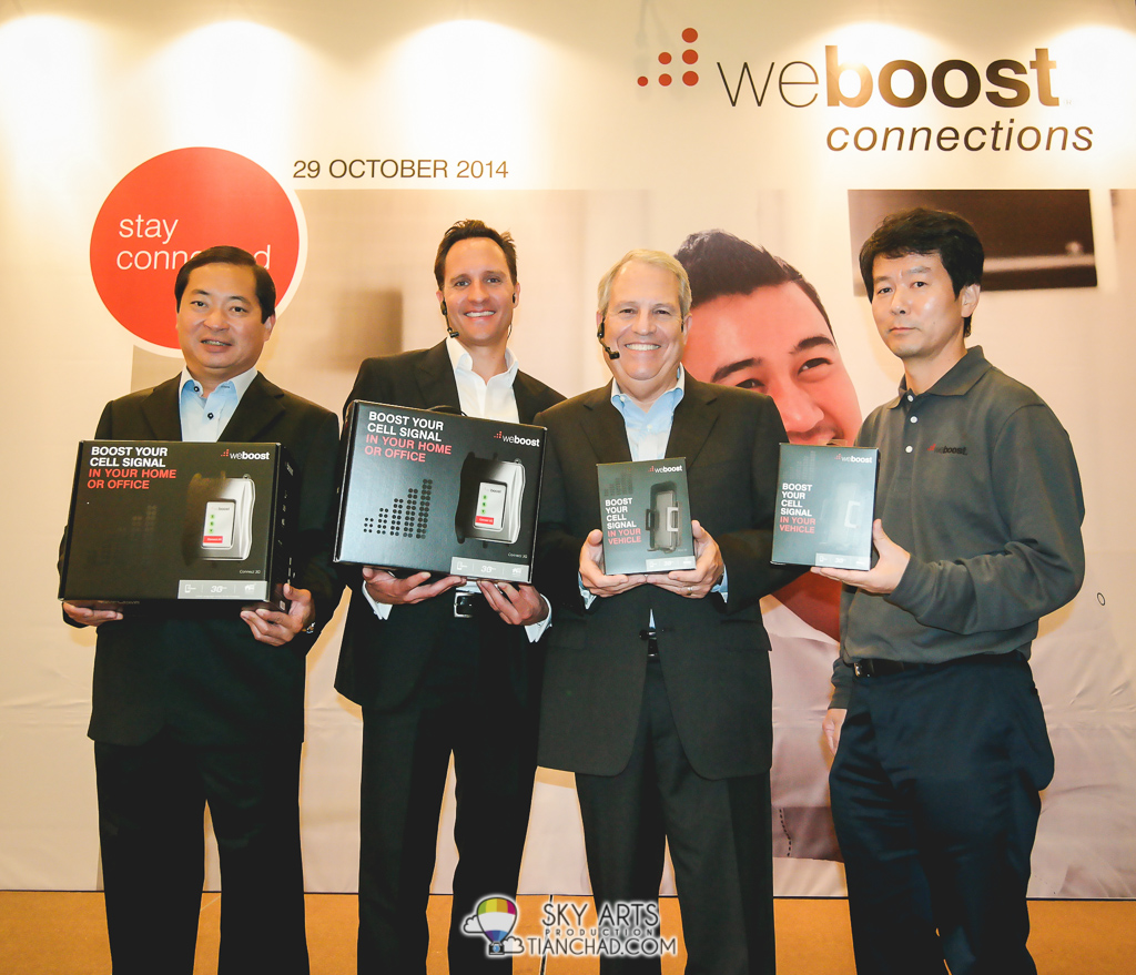 weBoost launched two cellular signal booster in Malaysia: Connect 3G and Drive 3G-S