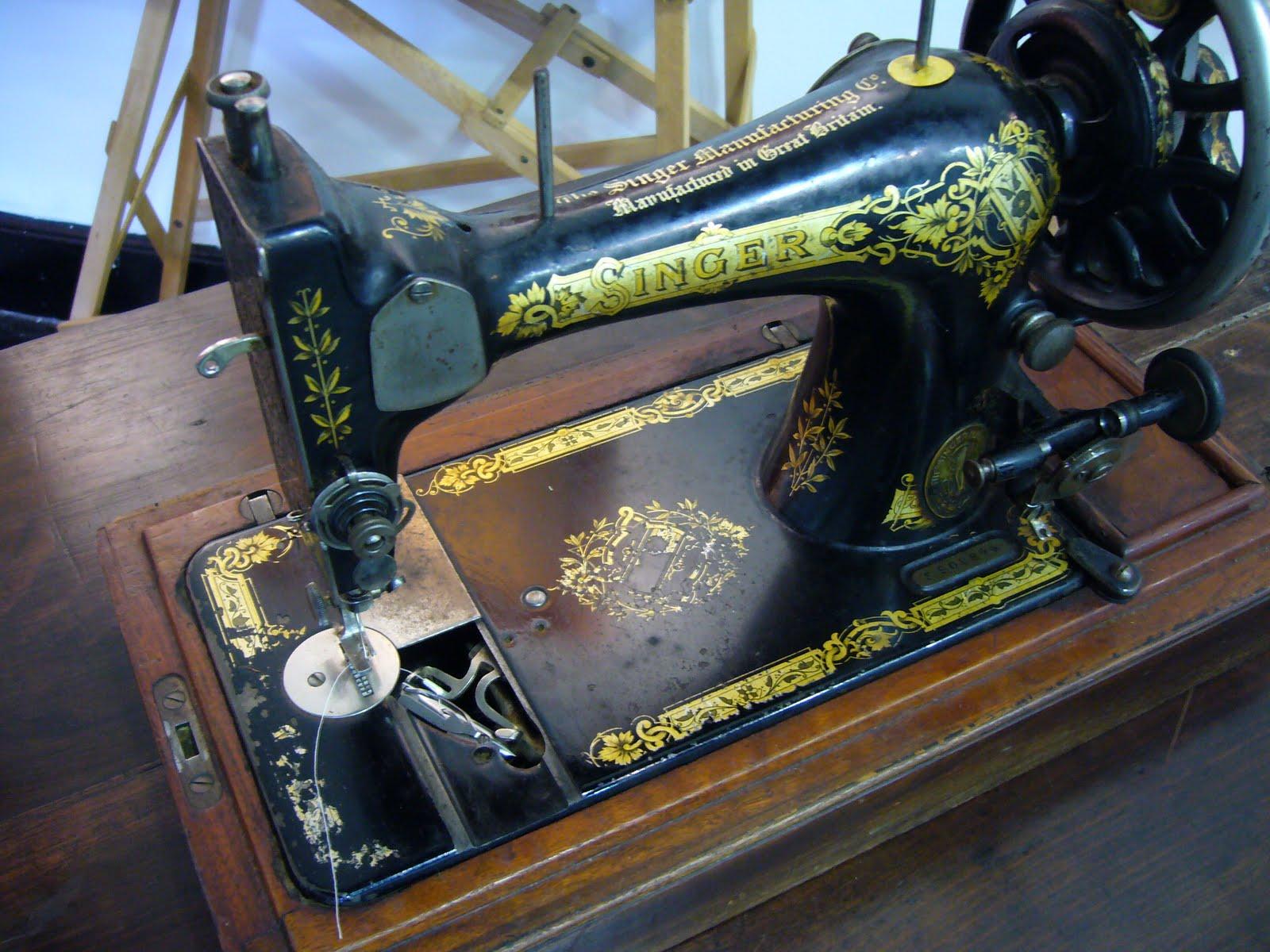 Maquina de coser singer siglo xix de lanzadera comprar - Maquinas de coser restauradas ...