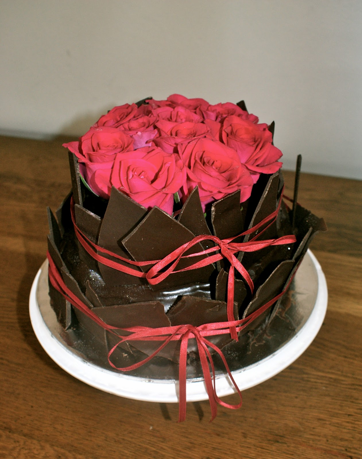 My Favourite Cupcake Rose Chocolate and Ganache Cake