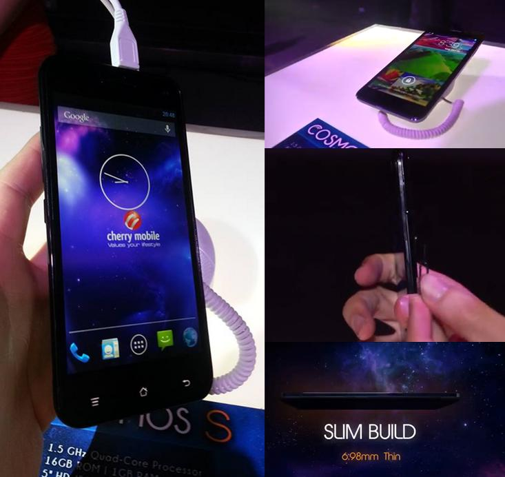 Cherry Mobile COSMOS S - 9th Slimmest Android Phone in the World