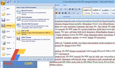 3 Cara Membuat File PDF dengan Mudah