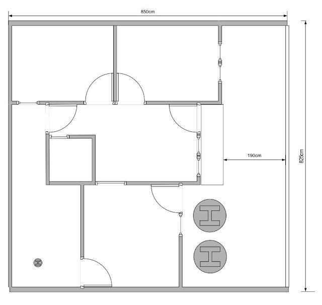 tahapan membangun rumah - denah 1