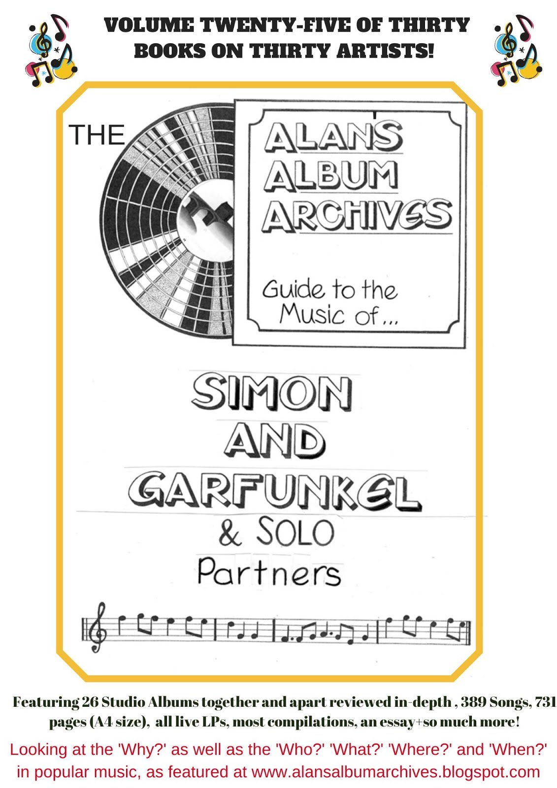 'Patterns - The Alan's Album Archives Guide To The Music Of...Simon and Garfunkel'