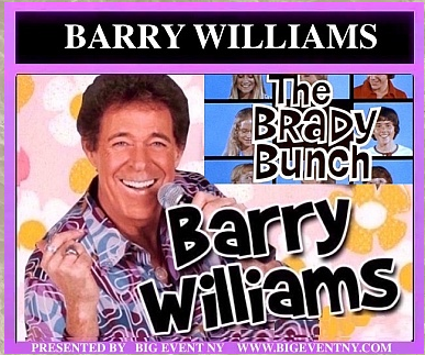 Barry Williams In Person!