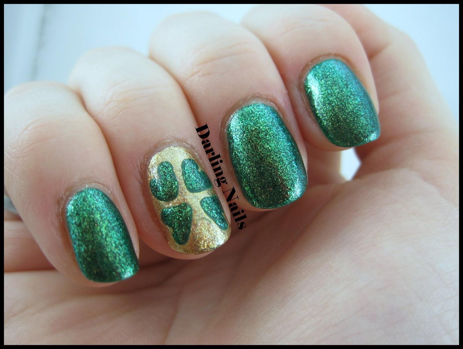 Darling Nails Four Leaf Clover