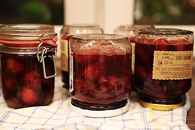 рецепт клубничное варенье с розмарином заготовки на зиму