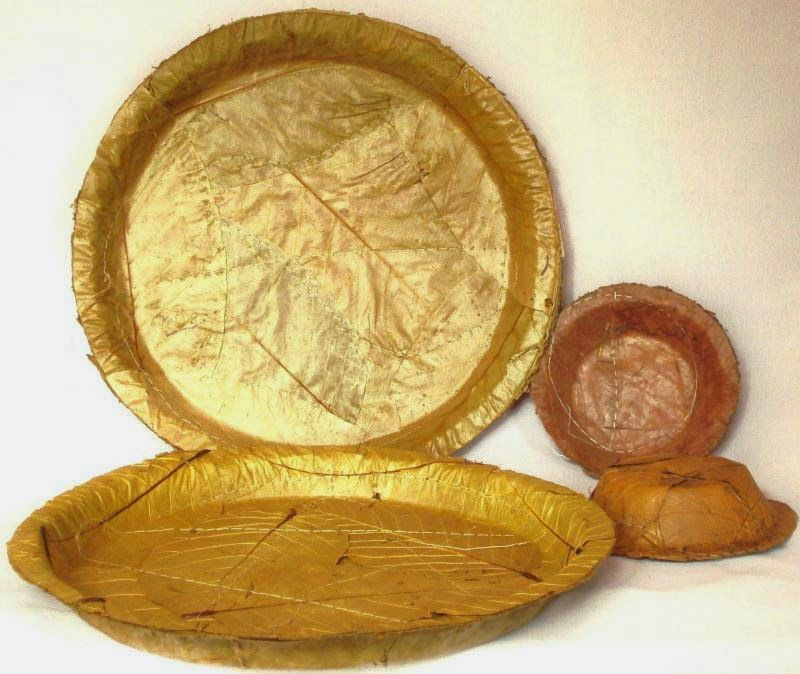 Sal-leaf plates and bowls