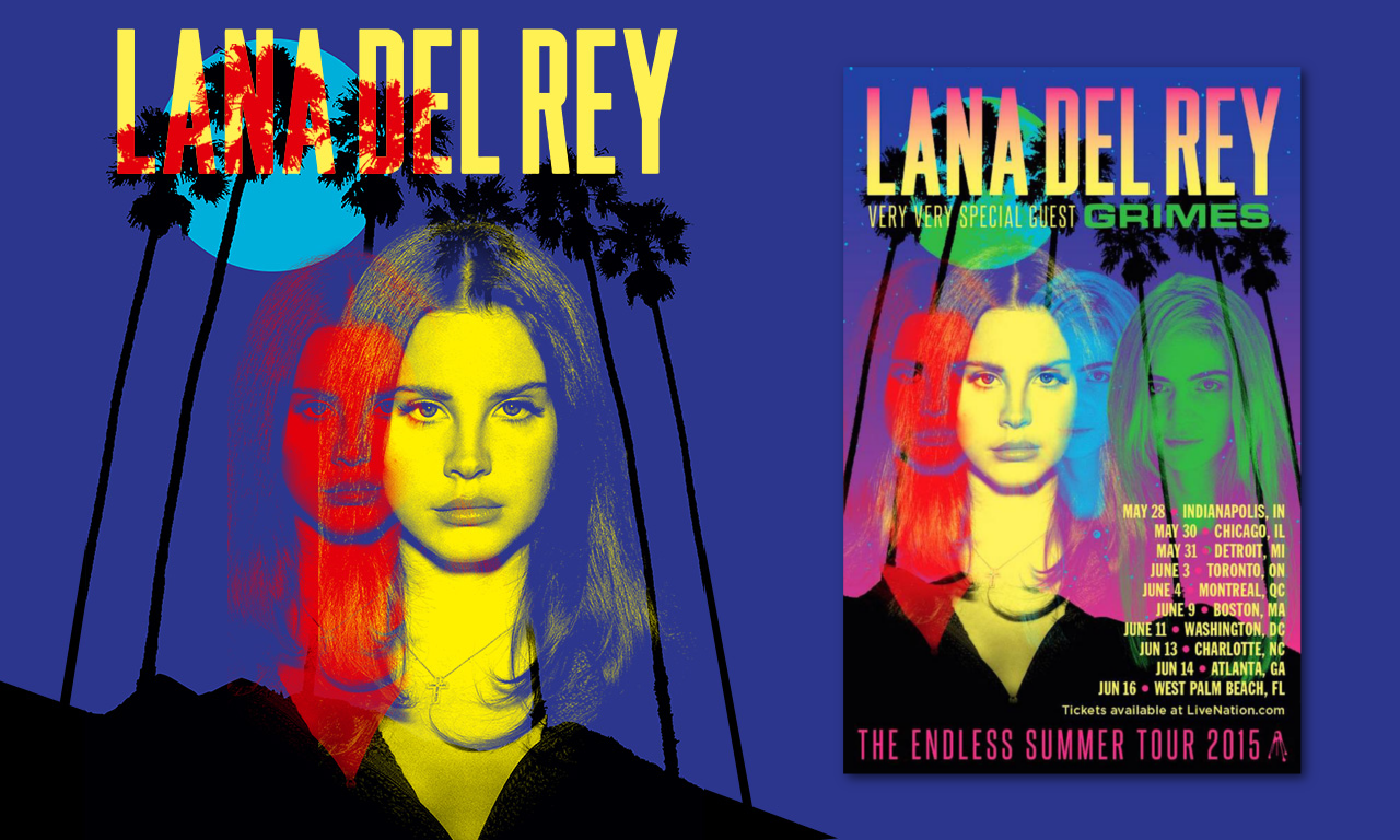 The endless summer tour lana del rey with grimes aural the endless summer tour lana del rey with grimes kristyandbryce Images