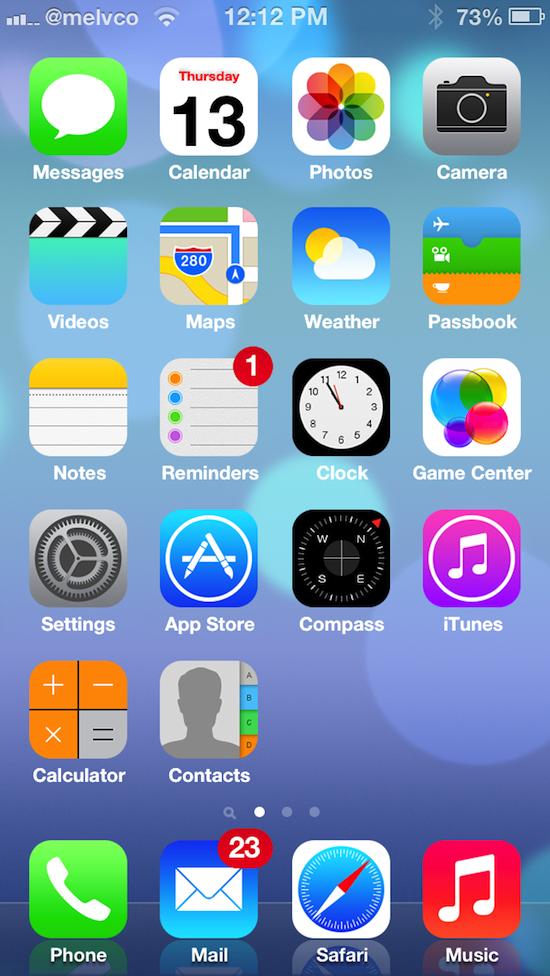 Ipod Ios 7 Ios 7 Theme For Ios 6 Iphone