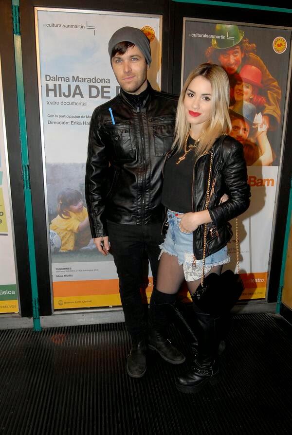 Lali Esposito Y Benjamin Amadeo 2014