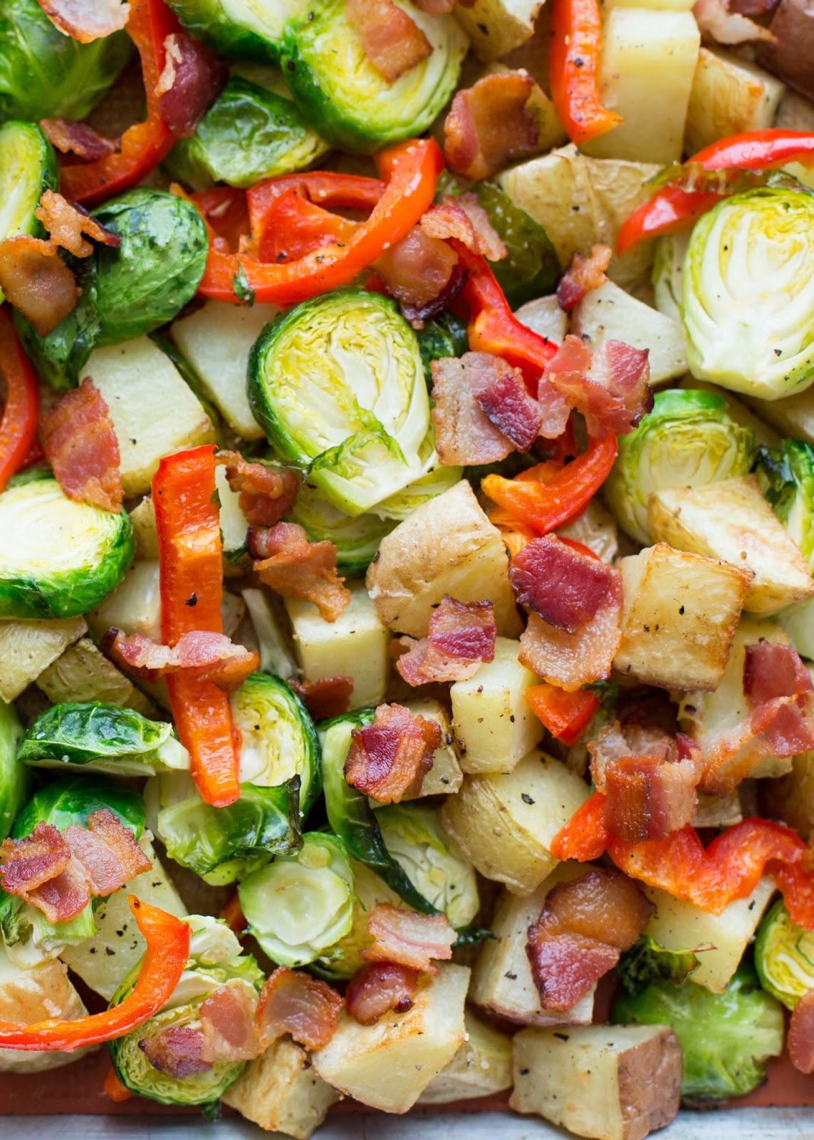 vinaigrette brussels sprouts with bacon brussels sprouts with bacon ...