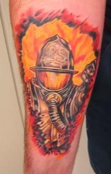 Tatuagens de Bombeiro