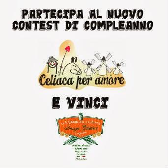 """Contest """"Compleanno di Celiaca per Amore"""""""