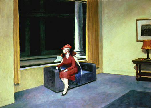 Edward Hopper's Hotel Window