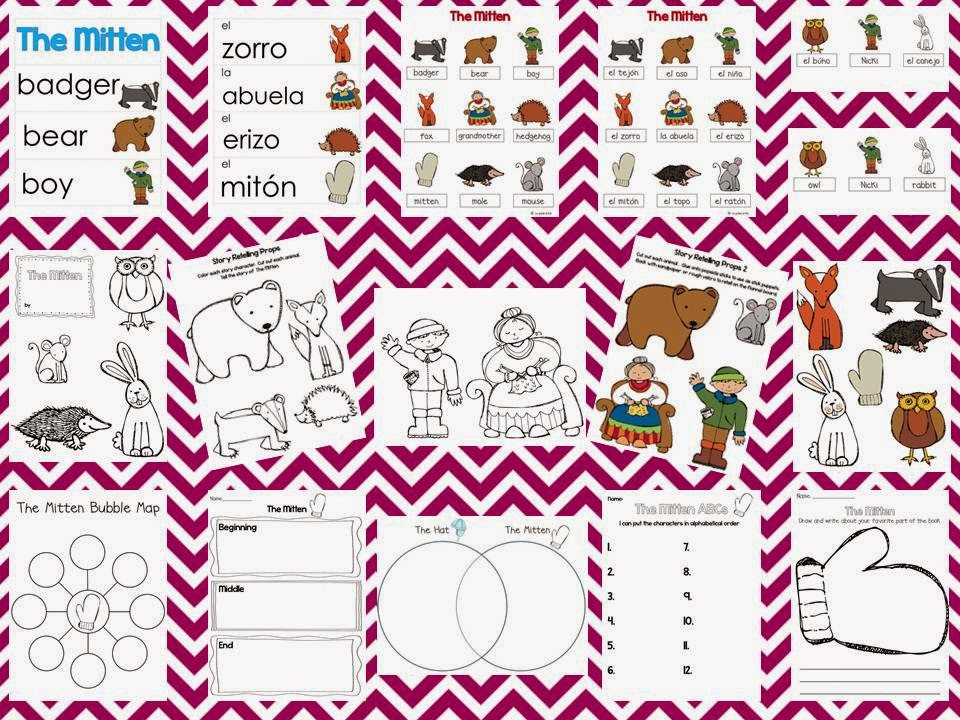http://www.teacherspayteachers.com/Product/Mitten-Word-Cards-and-Word-Walls-in-English-and-Spanish-431763
