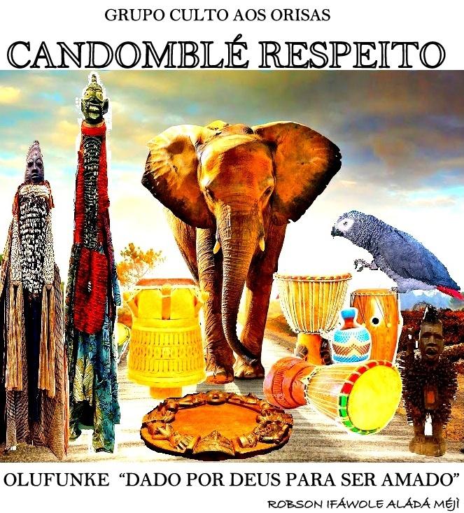 MY FACEBOOK PAGA: CANDOMBLÉ RESPEITO