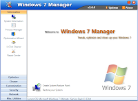 Free Download Windows 7 Manager 4.2.6 No serial key crack and patch