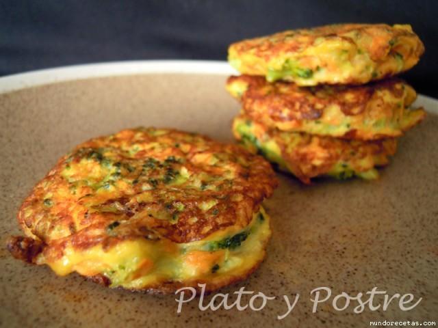 Recetas sencillas de cocina tortitas de br coli y zanahoria for Cocinar zanahorias