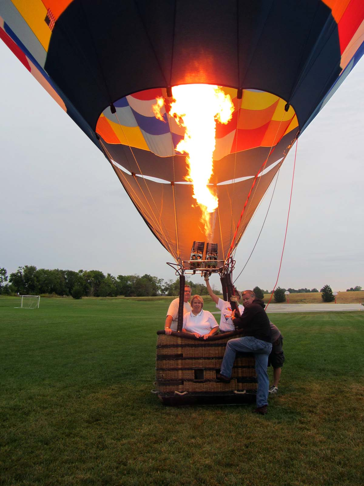 The gallery for --> Inside Hot Air Balloon Basket