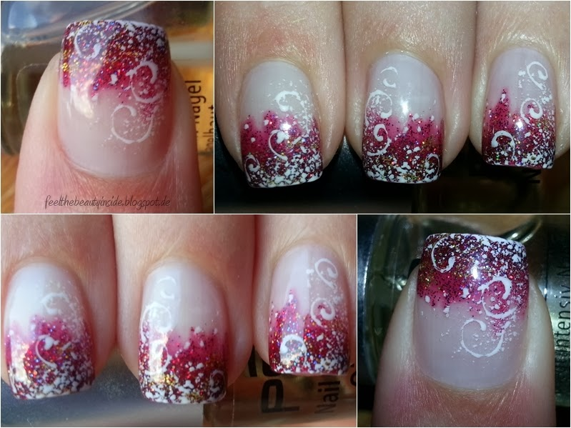 nageldesign weihnachten silvester - Winter Weihnachten Connys Nailstudio Naildesign