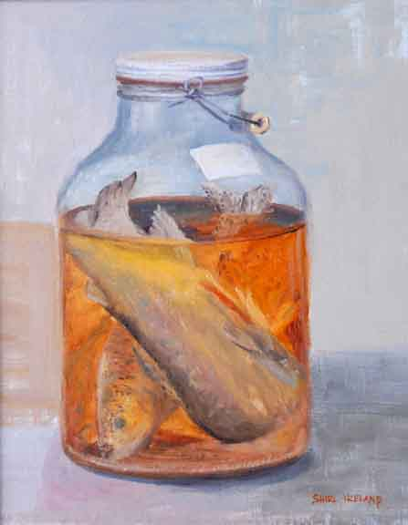 Shirl ireland 39 s art blog i paint what for Fish in a jar