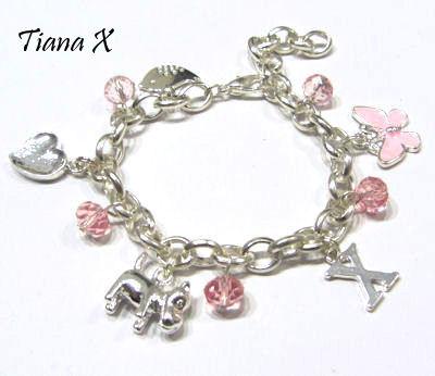 Tiana X - Rannekoru, ketjukoru, kristallit