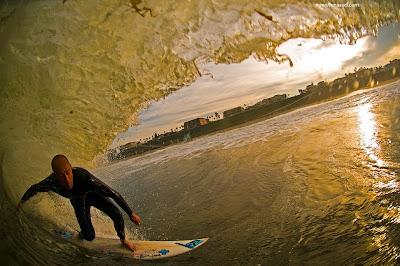 1 piece surfboard tail pad Ian Battrick california lunasurf