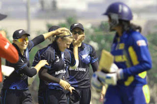 New Zealand beat Lankans in first Super Six match