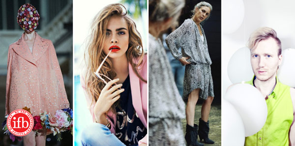 fashion photography, cara delevingne, self-portrait