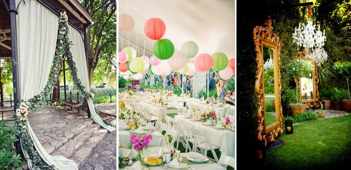 Garden Themed Wedding Decorations Singapore Photo