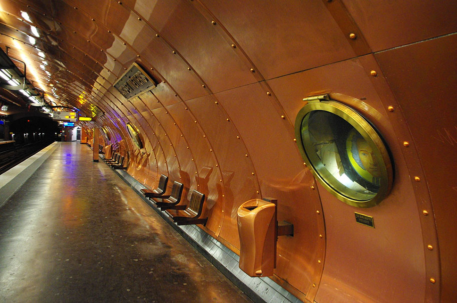 Estação de metrô ao redor do mundo