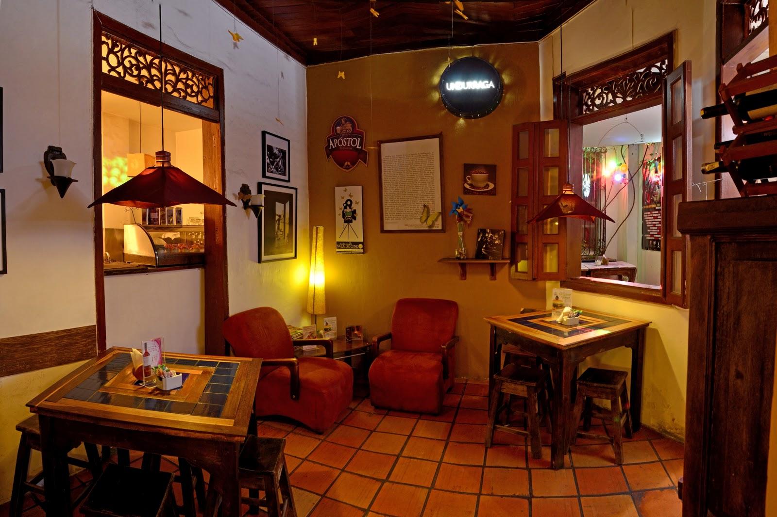 Caf macondo nuestras instalaciones for Decoracion de unas cafes