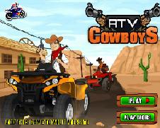 Kovboy Atv Oyunu