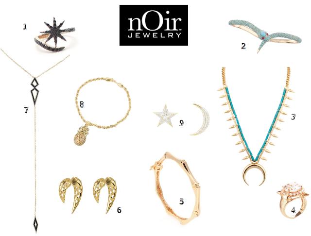 Regalos molones III Noir Jewelry NYC