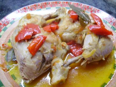 Pollo a la Cantaora