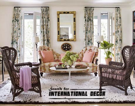 American interior design, American style,American houses, American living room furniture