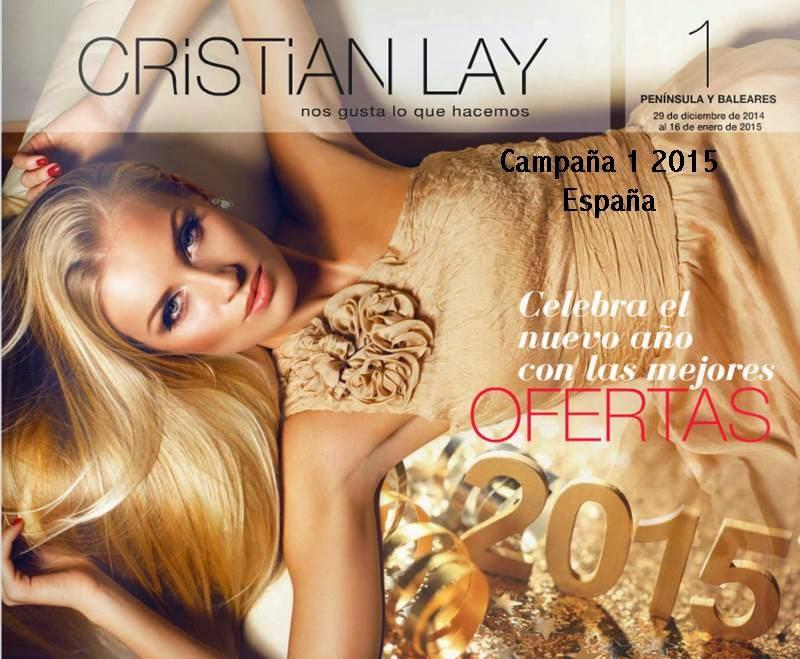 Catalogo Cristian Lay C-1 2015 España