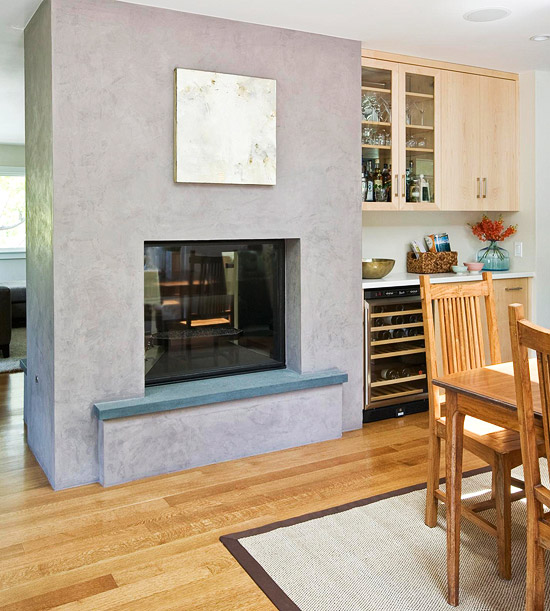 New Home Interior Design Working With Open Living Spaces