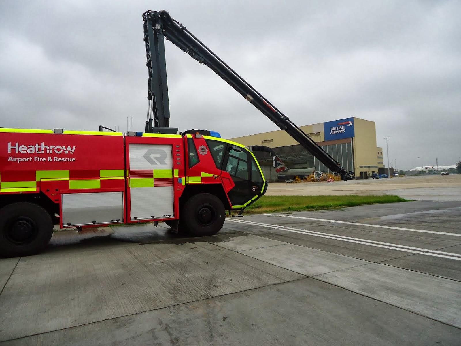 Heathrow Fire Service.