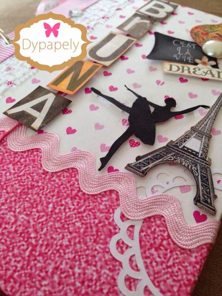 Favoritos Dypapely Design: Caderno Personalizado da Bruna NV94