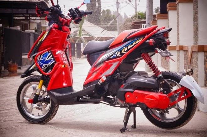 Modifikasi Yamaha X Ride