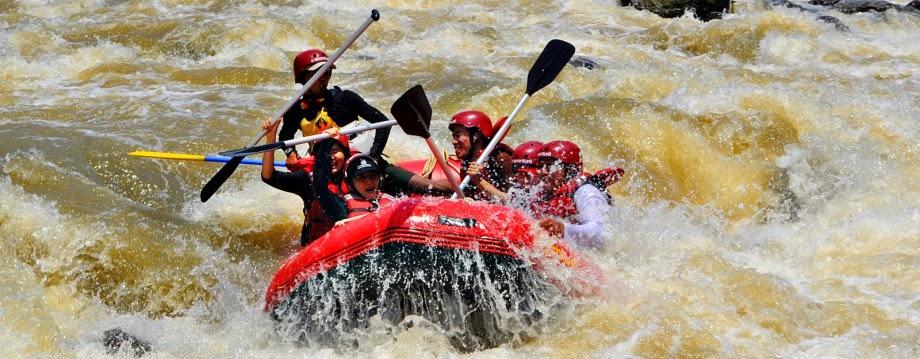 Paket Rafting di Sungai Cianten Bogor