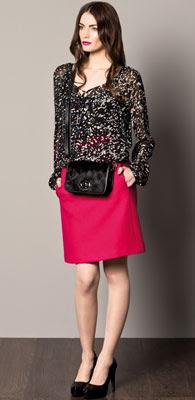 faldas mujer Caramelo otoño invierno 2012 2013